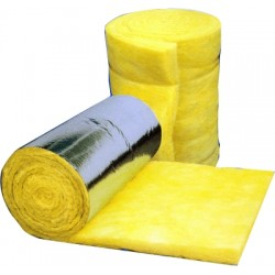 Glass fibre insulation 75mm