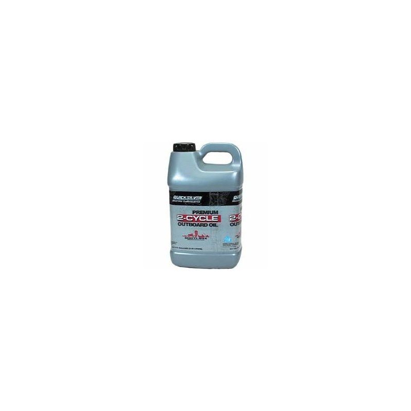 Premium 2-cycle TC-W3 outboard oil10 litres  92-858023QB1