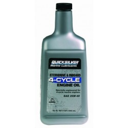 92-858048QB1 4 cycle inboard engine oil 946ml