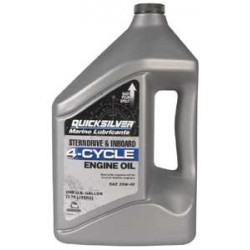 92-858049QB1 4 cycle inboard engine oil 4 litres