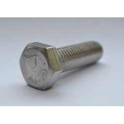 M12 A4 s/s hex head set bolt