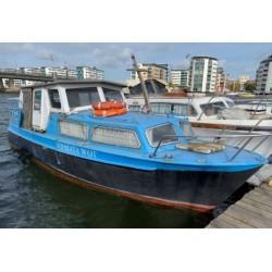 Steel Cabin boat