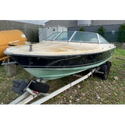 OMC Sports boat with trailer