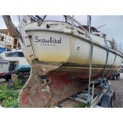 Project sailing boat