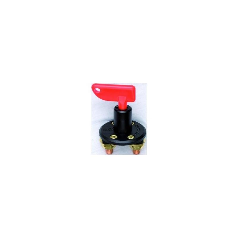 Key operated single battery isolator
