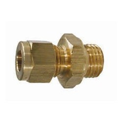 "1-14211 MALE STUD COUPLING M14 x1.5 x 5/16"" TUBE"