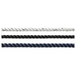 3 strand polyester navy/black