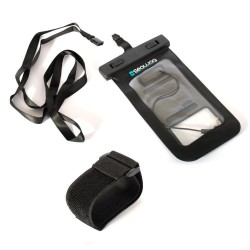 Waterproof case for smartphone with armband