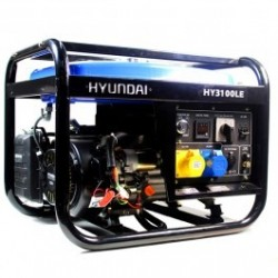 Hyundai HY3100LE 2.8kW Electric Start Petrol Generator