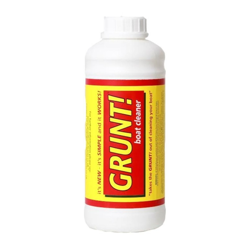 Grunt boat cleaner