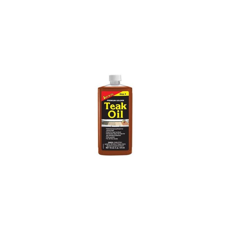 Starbrite Teak Oil ( step 3 )