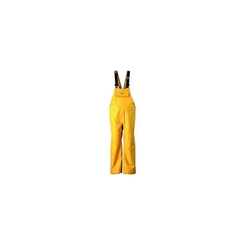 Guy Cotton - Cot.Bret.NP Jaune Bib & Brace trousers- L