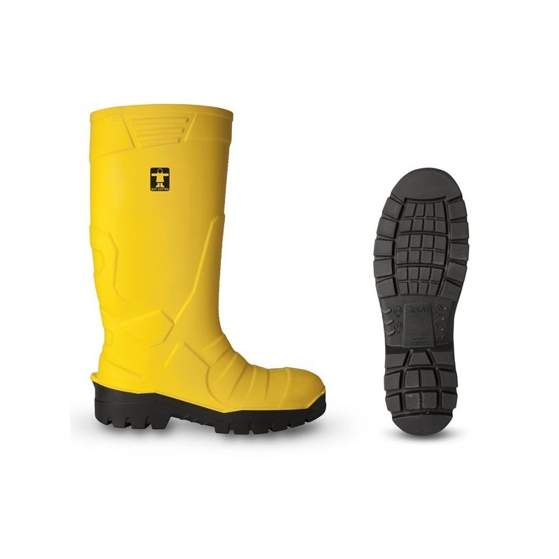 Guy Cotton - safety boot - YELLOW