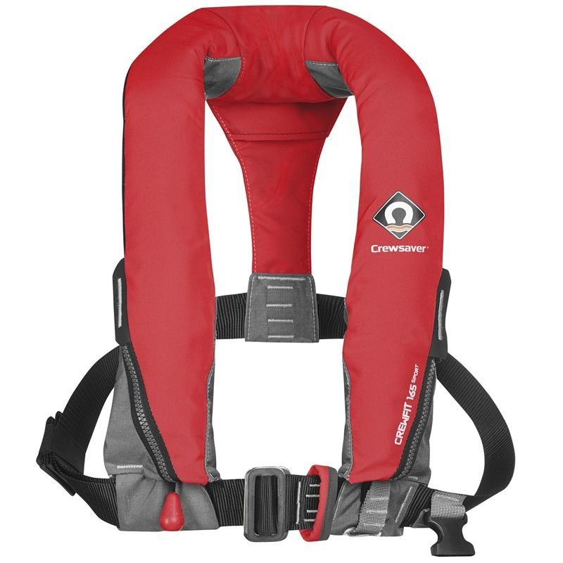 Crewsaver - 165M Auto/ Harness Adult lifejacket.(RED)