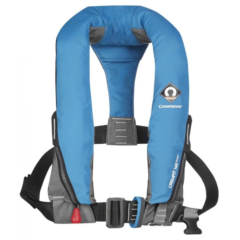 Crewsaver - 165M Auto/ Non-Harness Adult lifejacket.(Blue)