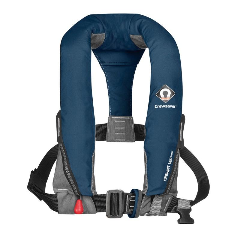 Crewsaver - 165M Auto/ Non-Harness Adult lifejacket.(Navy Blue)