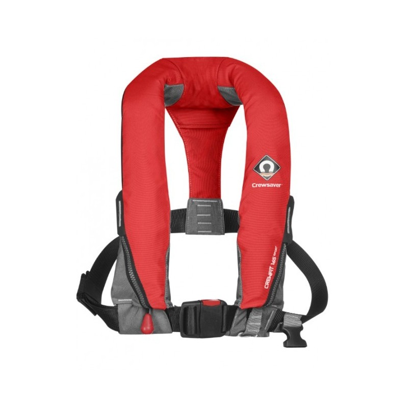 Crewsaver - 165M Auto/ Non-Harness Adult lifejacket.(RED)