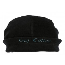 Guy cotton - Bonnet noir ( fleece hat)