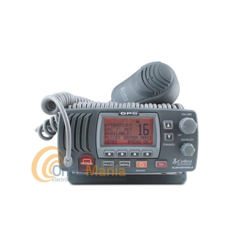 Cobra® MR F77B GPS Fixed-Mount VHF Radio