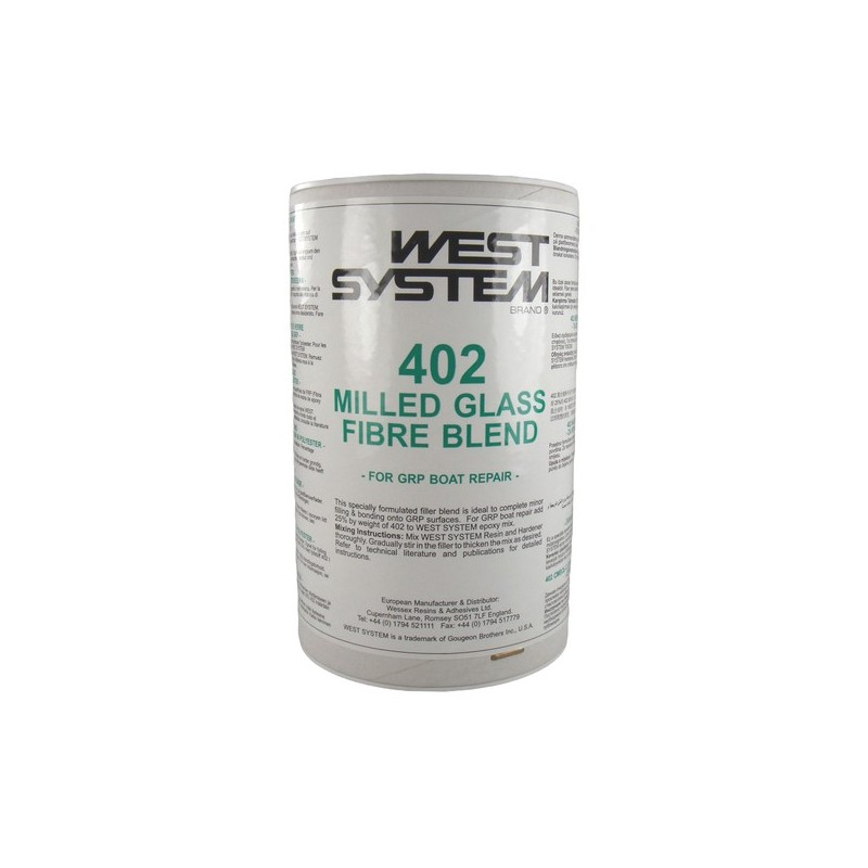 West System - 402- milled glas fibre blend