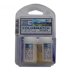 Blue Gee - colourmatch pigment- off white ( 3x20g)