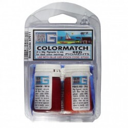 Blue Gee - colourmatch pigment- red ( 3x20g)