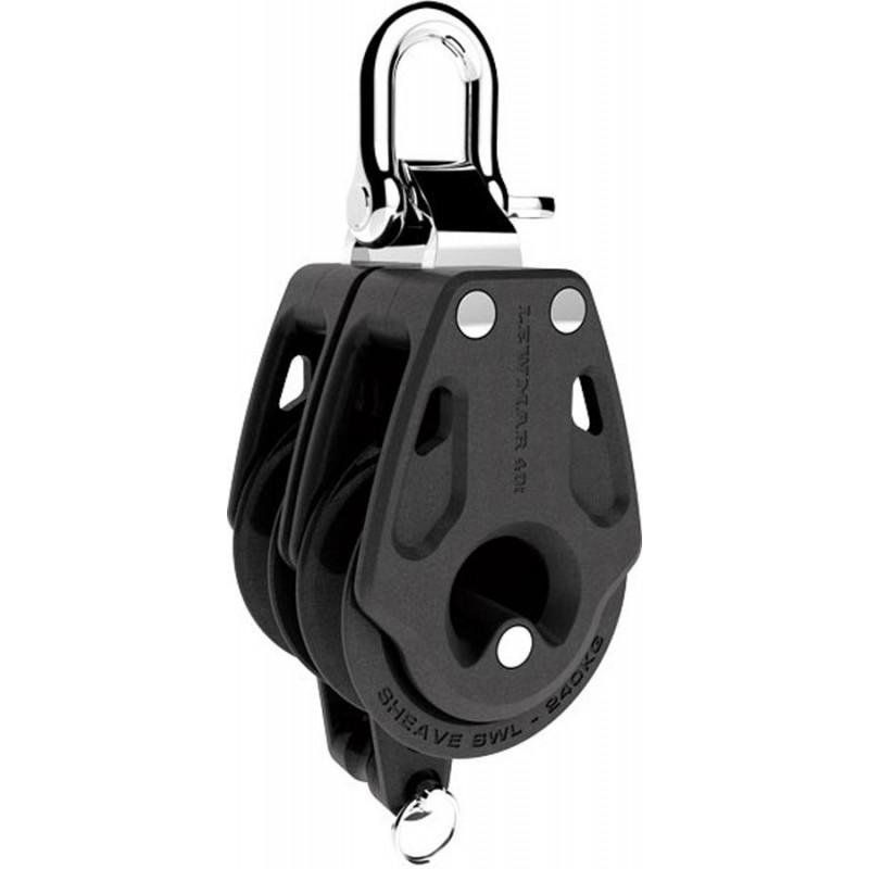 Lewmar 50mm snyc single becket block