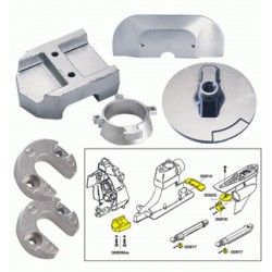Technoseal mercury alpha one anode kit