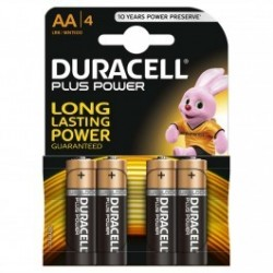 Duracell Plus AA pack of 4