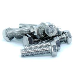 M6 A4 s/s hex head bolt
