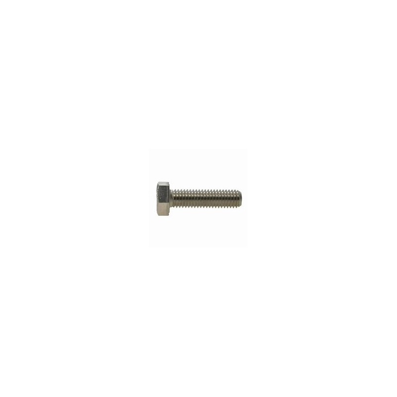 M8 A4 s/s hex head set bolt