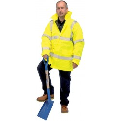 Draper high visibility traffic jacket