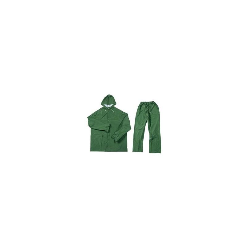 DDraper 2 piece lightweight rain suit