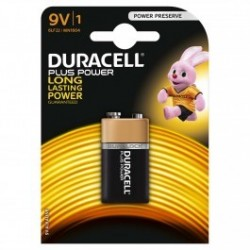 Duracell batteries size 9V